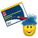 Exam time revision cards & stress ball