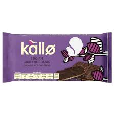 Kallo chocolate covered rice cakes (v)