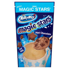 Magic stars hot chocolate