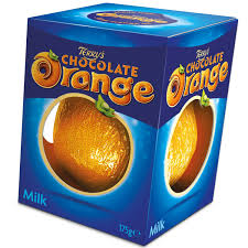 Terry's chocolate orange (v)