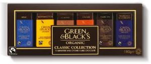 Green & Blacks classic collection