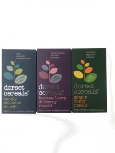 trio of dorset cereals (v)